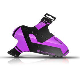 rie:sel design schlamm:PE Mudguard purple/black